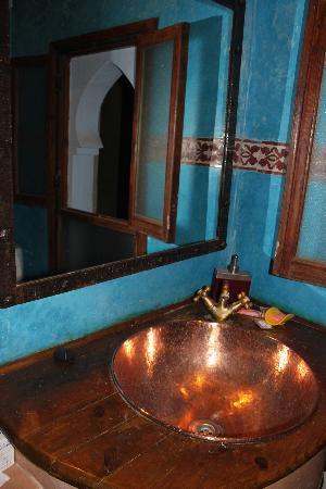 Hotel Riad Casa Hassan Restaurante: bagno 