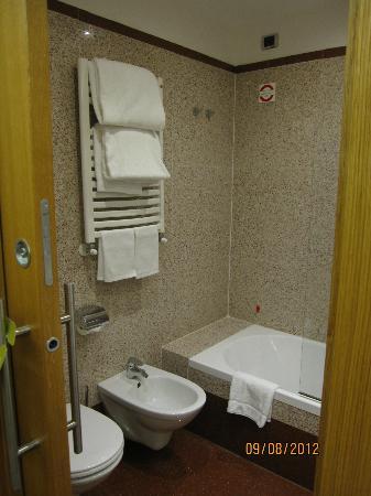Hilton Garden Inn Rome Claridge: Toilete