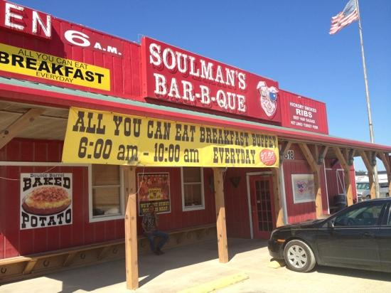 Soulman's Barbeque: it was real almost...