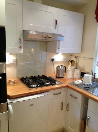 Three Abbey Green: Well equipped kitchen