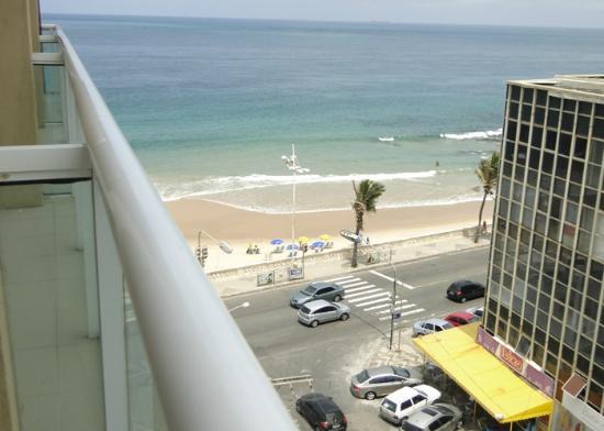 Monte Pascoal Praia Hotel Salvador: Vista do sexto andar do Hotel Monte Pascoal - Salvador/BA