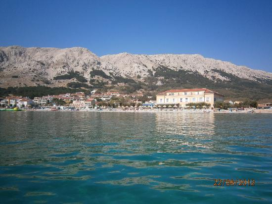 Hotel Tamaris: view from the sea