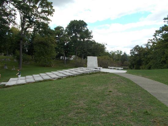 Blue Sky Mausoleum: Long view