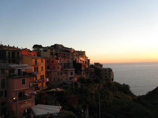 tramonto dalla terrazza - Picture of Case di Corniglia, Corniglia ...