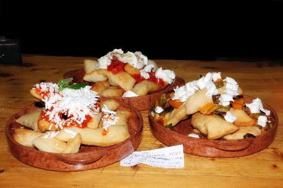 Santa Caterina, Italia: pizza fritta che bontà!!!