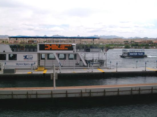 Harrah's Laughlin: water taxi and Don Laughlin's tour boat