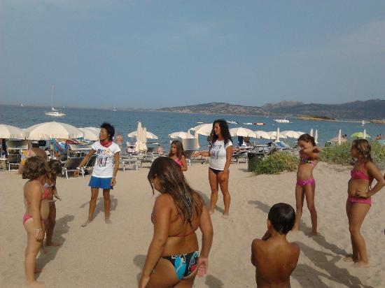 Stelle Marine Hotel & Resort: Divertirsi in spiaggia con le animatrici