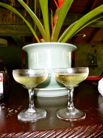 Couples Negril: Champagne to welcome us.