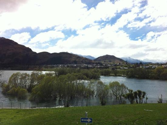 DoubleTree by Hilton Hotel Queenstown: View from our room