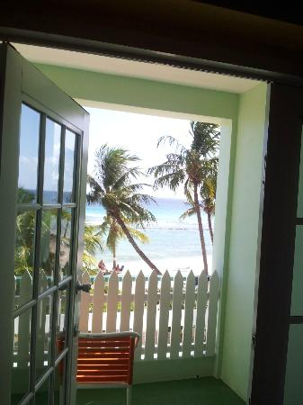 Coconut Court Beach Hotel: First floor room view