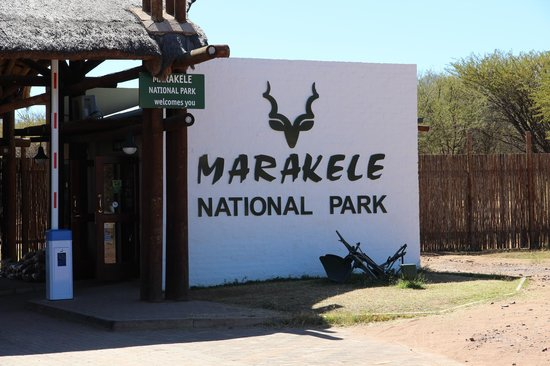 Thabazimbi, Zuid-Afrika: Entrance to National Park