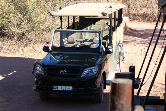 Marakele National Park: Our safari vehicle