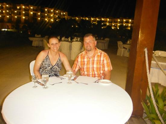 Occidental Caribe: The $70 dinner at the beach