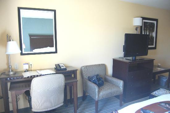 Hampton Inn & Suites West Sacramento: Simple room furnishings