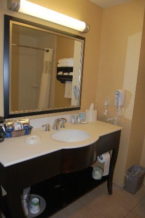 Hampton Inn & Suites West Sacramento: Well supplied bathroom