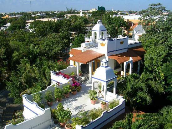 Eco-Hotel El Rey Del Caribe: Vista des arriba