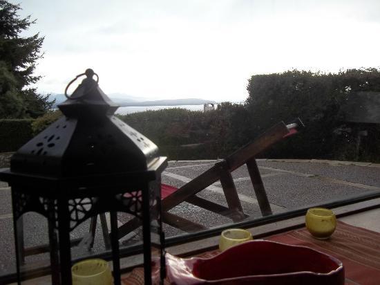 La Barraca Suites: vista desde el comedor