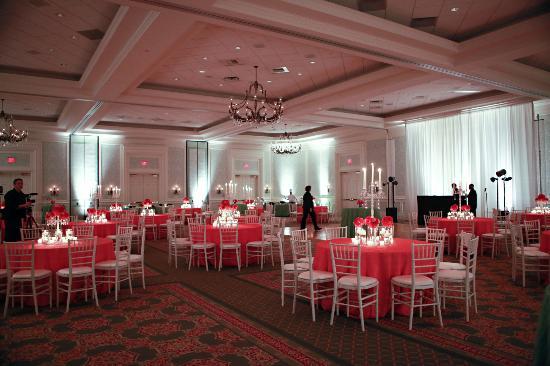 The Ballantyne, Charlotte: Ballroom set for reception