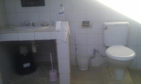 Wawa Wewe I Bungalows: Outside toilet