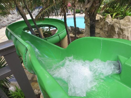 Palm Beach Marriott Singer Island Beach Resort & Spa: Water Slide at the Pool
