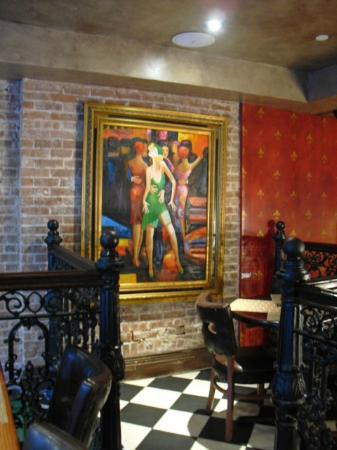 The French Quarters Guest Apartments: Dining room