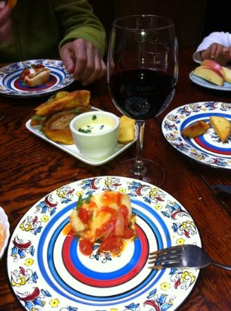 El Faro : excellent tapas and wine