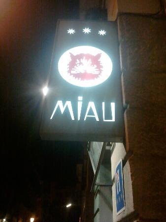 Hotel Miau: Entrada del hotel