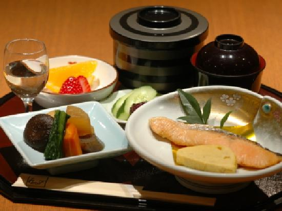 Ise City Hotel Annex: 朝食例(和食)