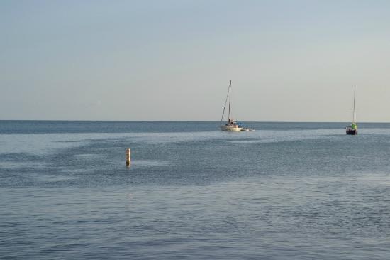 El Mar de la Tranquilidad: La vista desde el restaurante