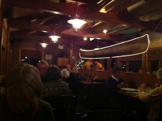 Canoe Restaurant: canoe