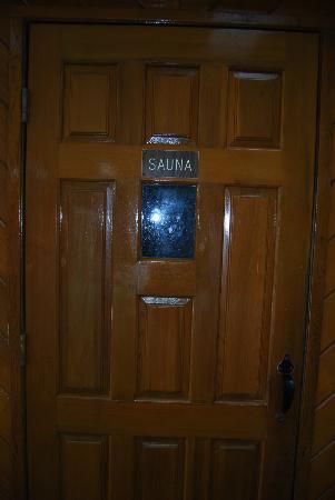 Festival Inn: sauna