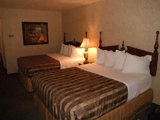 Abbey Inn: Room
