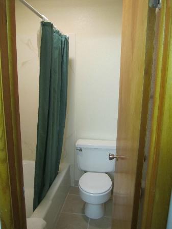 Dollar Inn Hot Springs: Bathroom