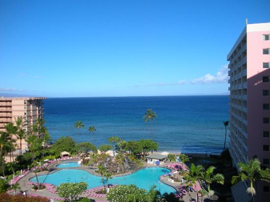 Ka'anapali Beach Club: View from lanai of 2 bedroom unit