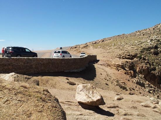 Pikes Peak - America's Mountain: Stop off near 13,000 ft