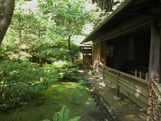 Portland Japanese Garden: Japanese Tea House
