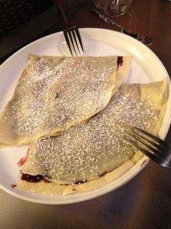 The Elephant Room: chocolate raspberry crepes