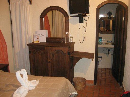 Hotel Posada Jovel: Habitación del hotel.