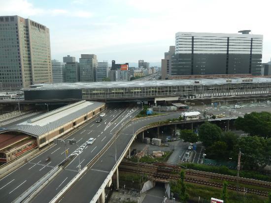 New Osaka Hotel : 部屋からの眺め