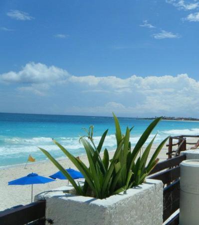 Oleo Cancun Playa: VISTA DESDE EL JACUZZI