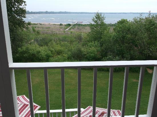 Blacksmith Inn On the Shore: Gorgeous view from our balcony