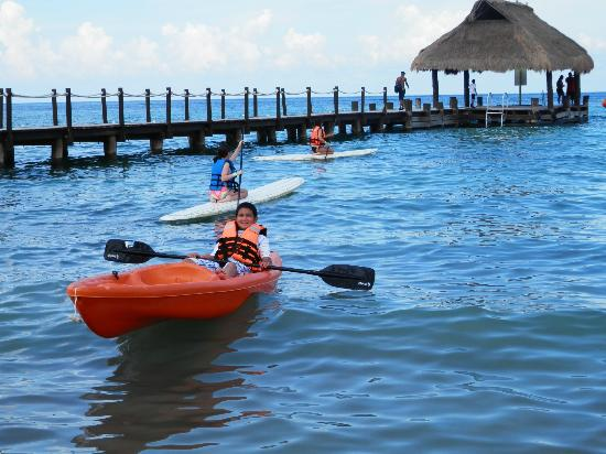 Playa Paraíso: kayak