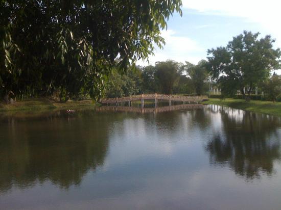 New Champagne Hotel : Taiping Lake Garden.