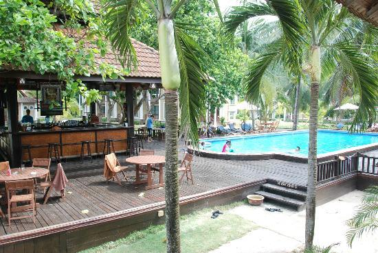 Coral Redang Island Resort: Pool & poolside bar