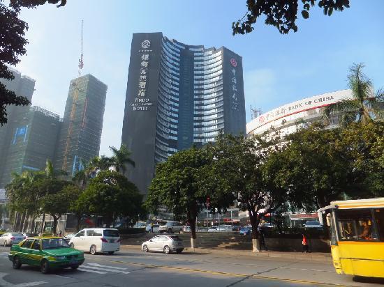Yindo Hotel Zhuhai: outside view