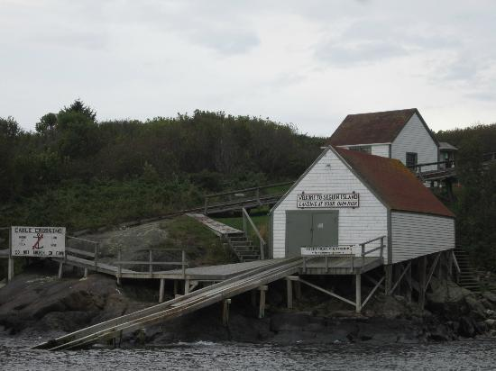 Seguin Island and Lighthouse: Island approach