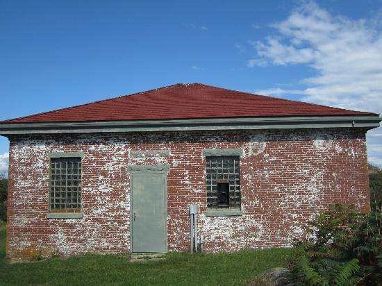 Seguin Island and Lighthouse : The Whistle House
