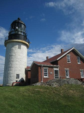 Seguin Island and Lighthouse : Seguin Light