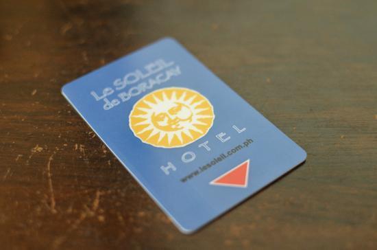 Le Soleil de Boracay: Card Access