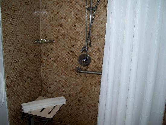 The President Hotel - Miami Beach: I LOVED THE SHOWER SPACE